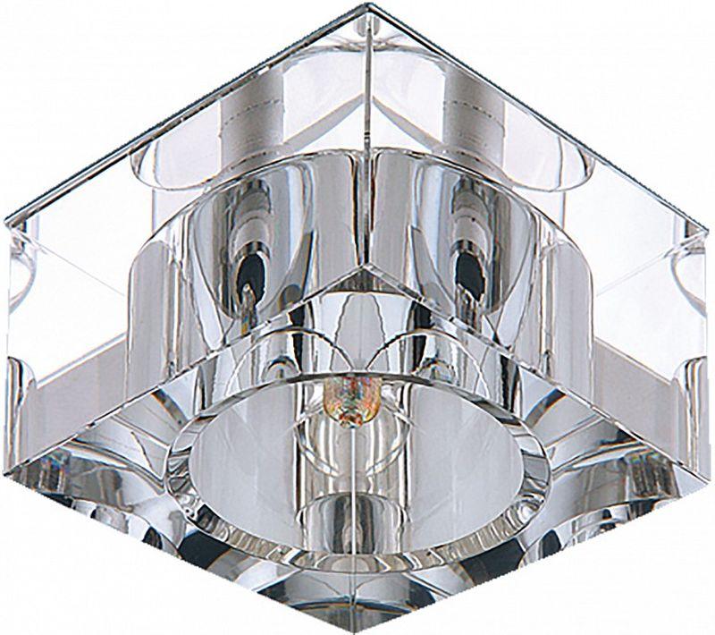 Светильник встраиваемый Lightstar Qube, G4, 35W. LS_004050LS_004050Светильник встраиваемый Lightstar Qube, G4, 35W. LS_004050