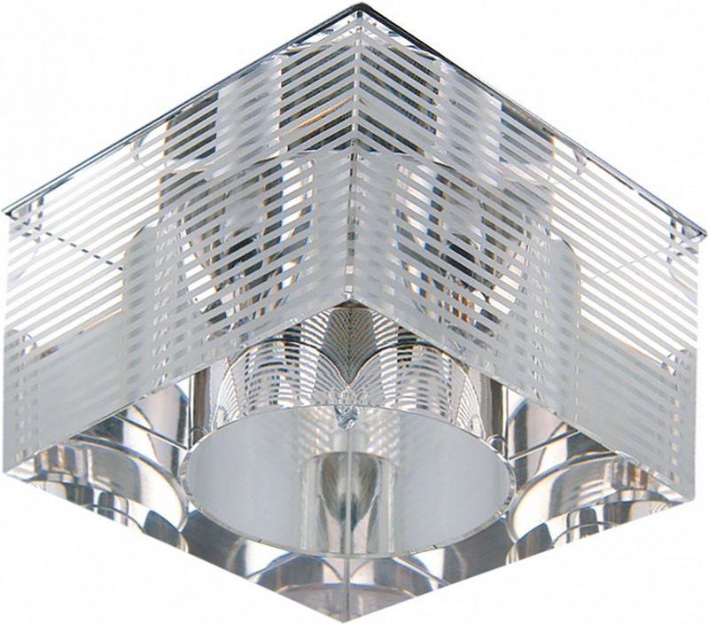 Светильник встраиваемый Lightstar Qube, G4, 35W. LS_004055LS_004055Светильник встраиваемый Lightstar Qube, G4, 35W. LS_004055