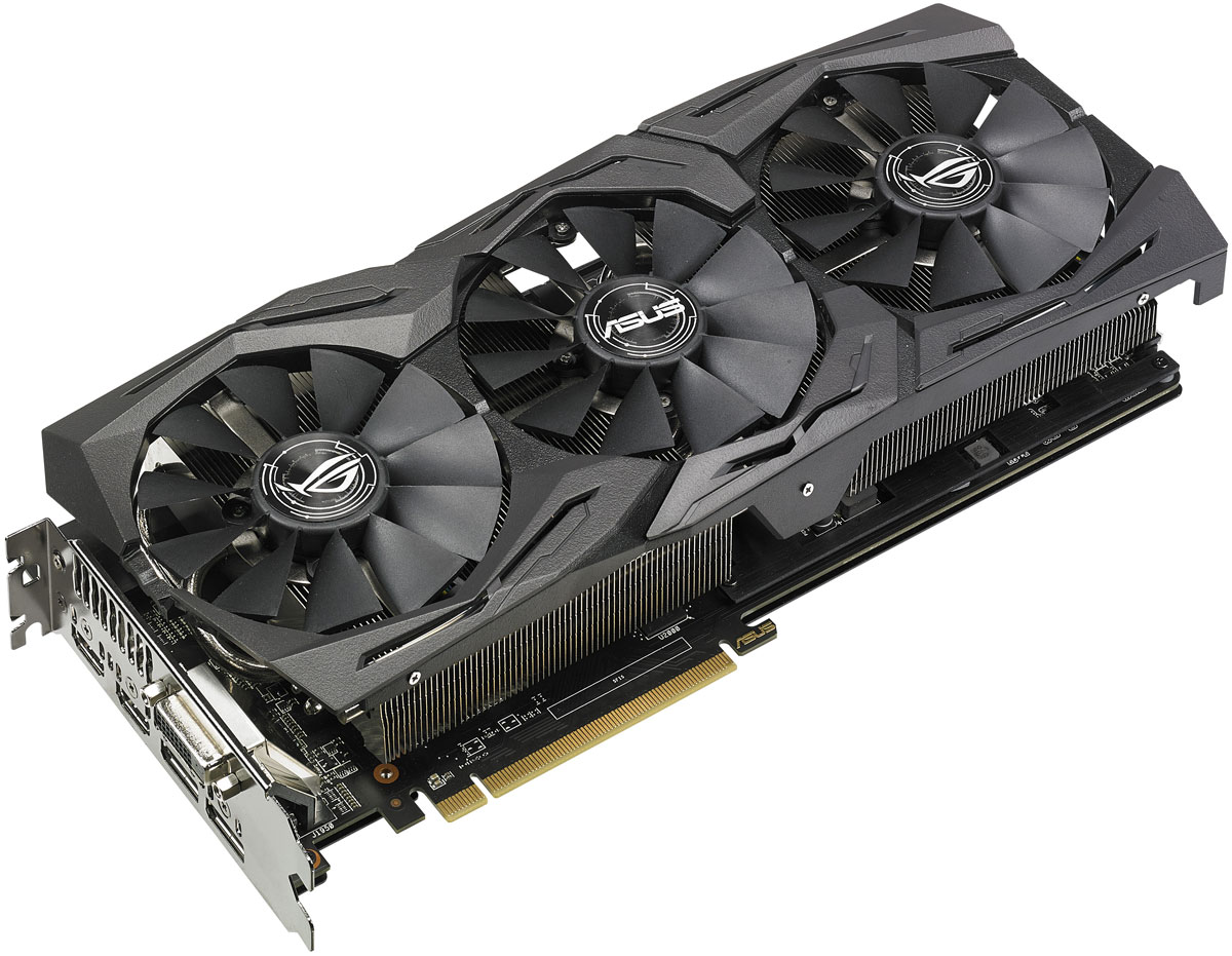 ASUS ROG Strix Radeon RX 580 TOP Edition 8GB видеокарта