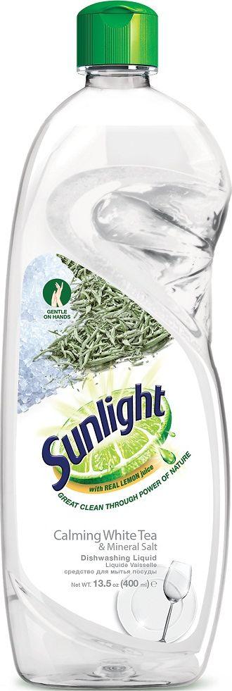 Жидкое средство для мытья посуды Sunlight White Tea, 400 мл67189861Усиленная формула Sunlight имеет 5 преимуществ: Содержит натуральный экстракт лимона. Удаляет жир одним взмахом губки. Эффективно удаляет стойкий жир и загрязнения даже с пластиковых поверхностей, чтобы посуда была чистой, как новая. Легко смывается водой и не оставляет следов. Мягко действует без вреда для кожи рук. Не оставляет следов основных моющих компонентов. Товар сертифицирован.