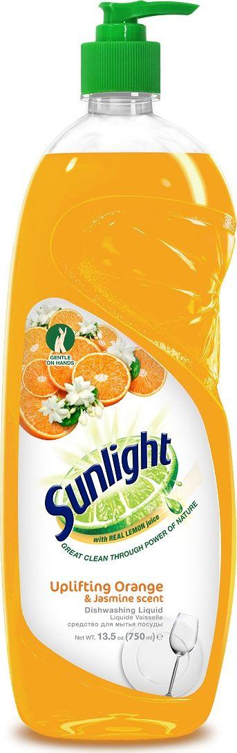 """Жидкое средство для мытья посуды """"Sunlight"""", Orange, 750 мл"""