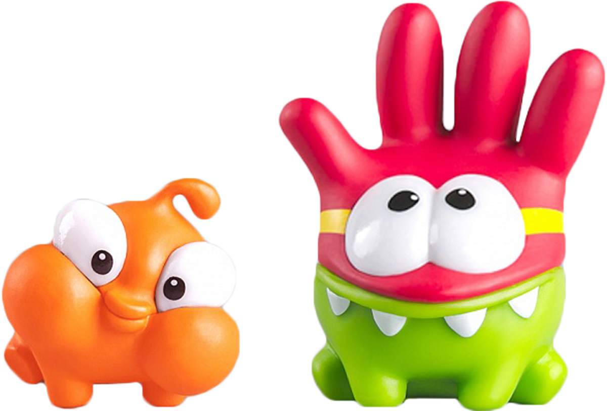 PROSTOtoys Cut the Rope Набор фигурок 3 Ам Ням 2 шт набор фигурок cut the rope 2 pack 9
