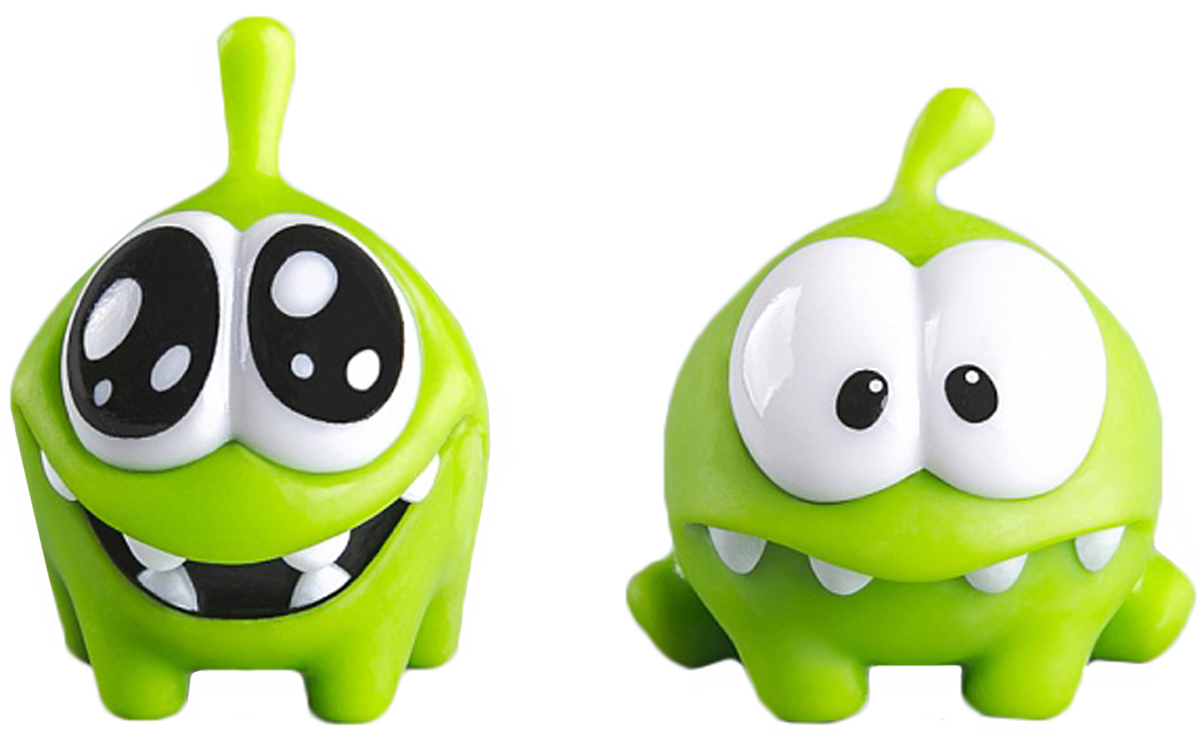 PROSTOtoys Cut the Rope Набор фигурок 5 Ам Ням, 2 шт набор фигурок cut the rope 2 pack 9