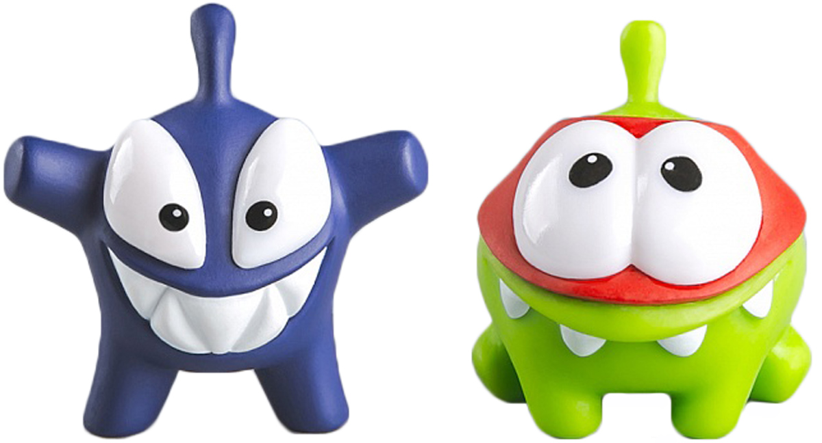PROSTOtoys Cut the Rope Набор фигурок 6 Ам Ням, 2 шт набор фигурок cut the rope 2 pack 9