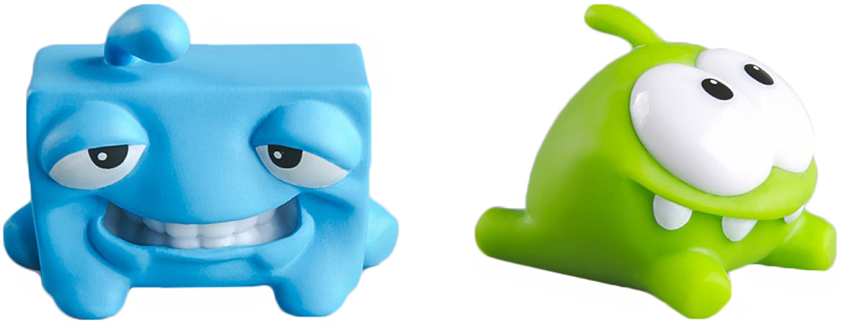 PROSTOtoys Cut the Rope Набор фигурок 10 Ам Ням, 2 шт набор фигурок cut the rope 2 pack 9
