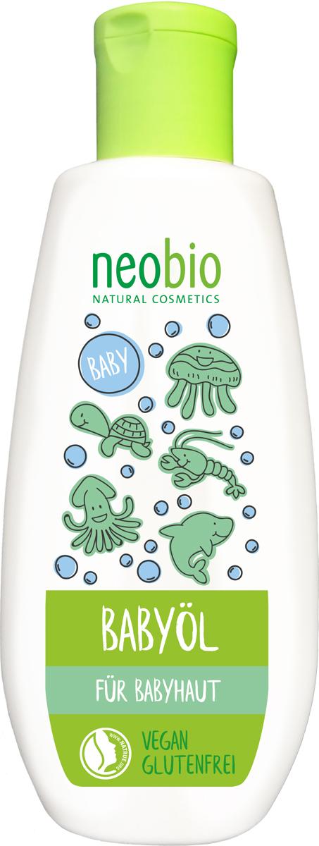 Neobio Масло с Био-Календулой для младенцев, 200 мл косметика для новорожденных neobio детский шампунь гель для волос и тела с био алоэ и био календулой