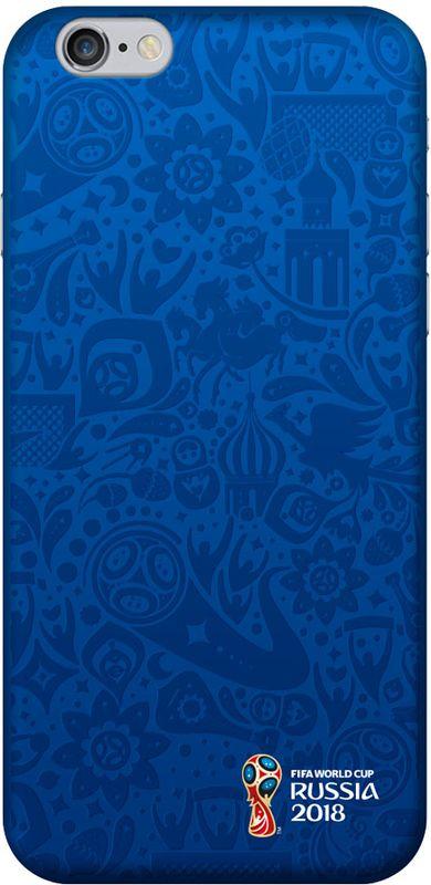 Deppa FIFA Логотип чехол для Apple iPhone 6/6S, Blue103872Чехол Deppa к чемпионату мира по футболу FIFA для Apple iPhone 6/6S предназначен для защиты корпуса смартфона от механических повреждений и царапин в процессе эксплуатации. Имеется свободный доступ ко всем разъемам и кнопкам устройства.