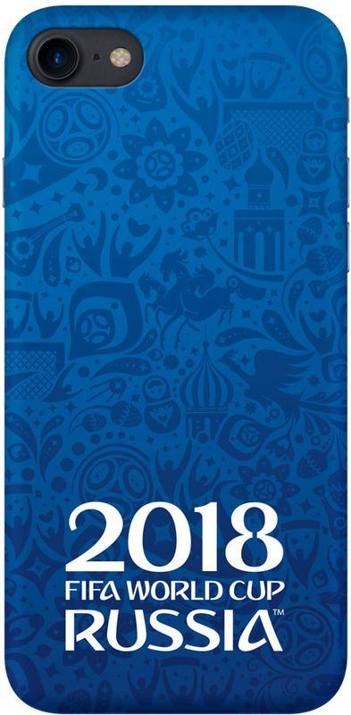 Deppa FIFA Логотип чехол для Apple iPhone 7/8, Blue