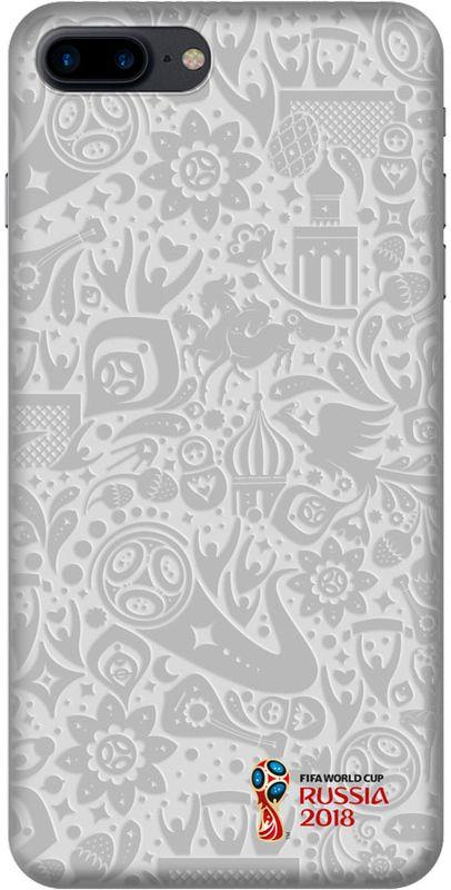 Deppa FIFA Логотип чехол для Apple iPhone 7/8 Plus, White103919Чехол к чемпионату мира по футболу FIFA.