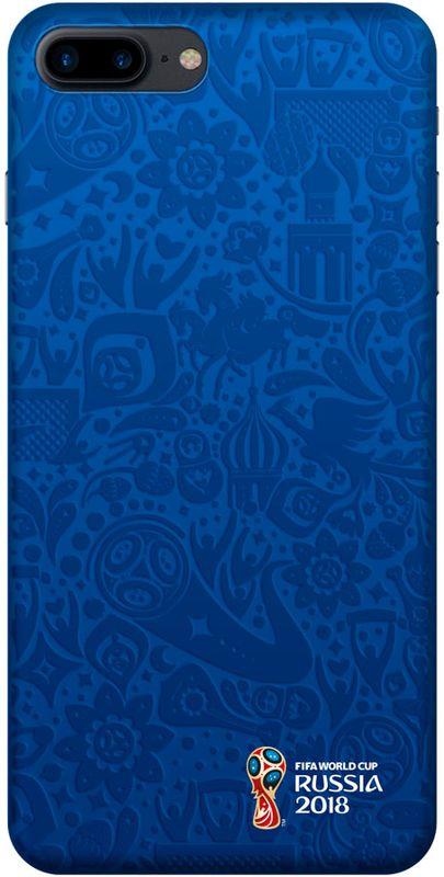 Deppa FIFA Логотип чехол для Apple iPhone 7/8 Plus, Blue
