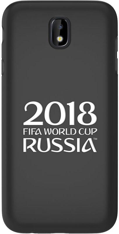 Deppa FIFA Логотип чехол для Samsung Galaxy J7 (2017), Black104051Чехол к чемпионату мира по футболу FIFA.