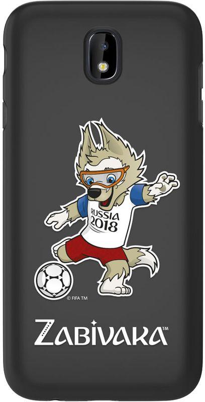 Deppa FIFA Забивака_2 чехол для Samsung Galaxy J7 (2017), Black чехол deppa art case и защитная пленка для samsung galaxy s6 патриот крым ваш