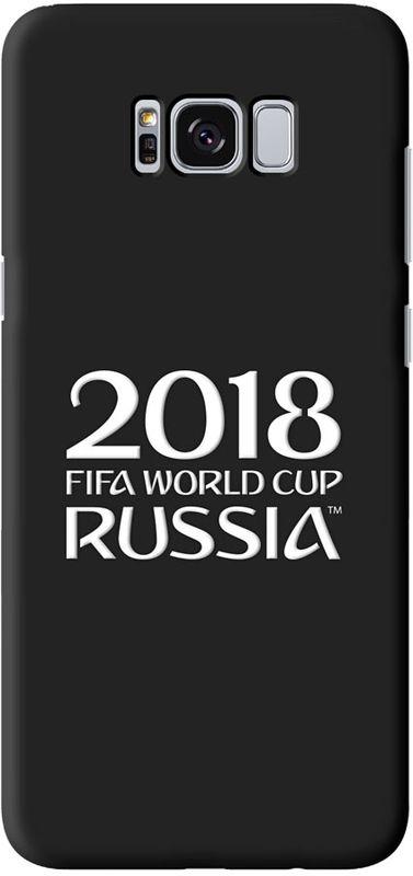 Deppa FIFA Логотип чехол для Samsung Galaxy S8+, Black104099Чехол к чемпионату мира по футболу FIFA.