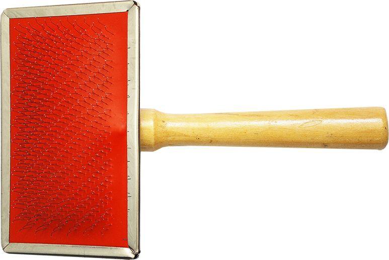 Щетка для животных №1, 14 х 12 см щетка