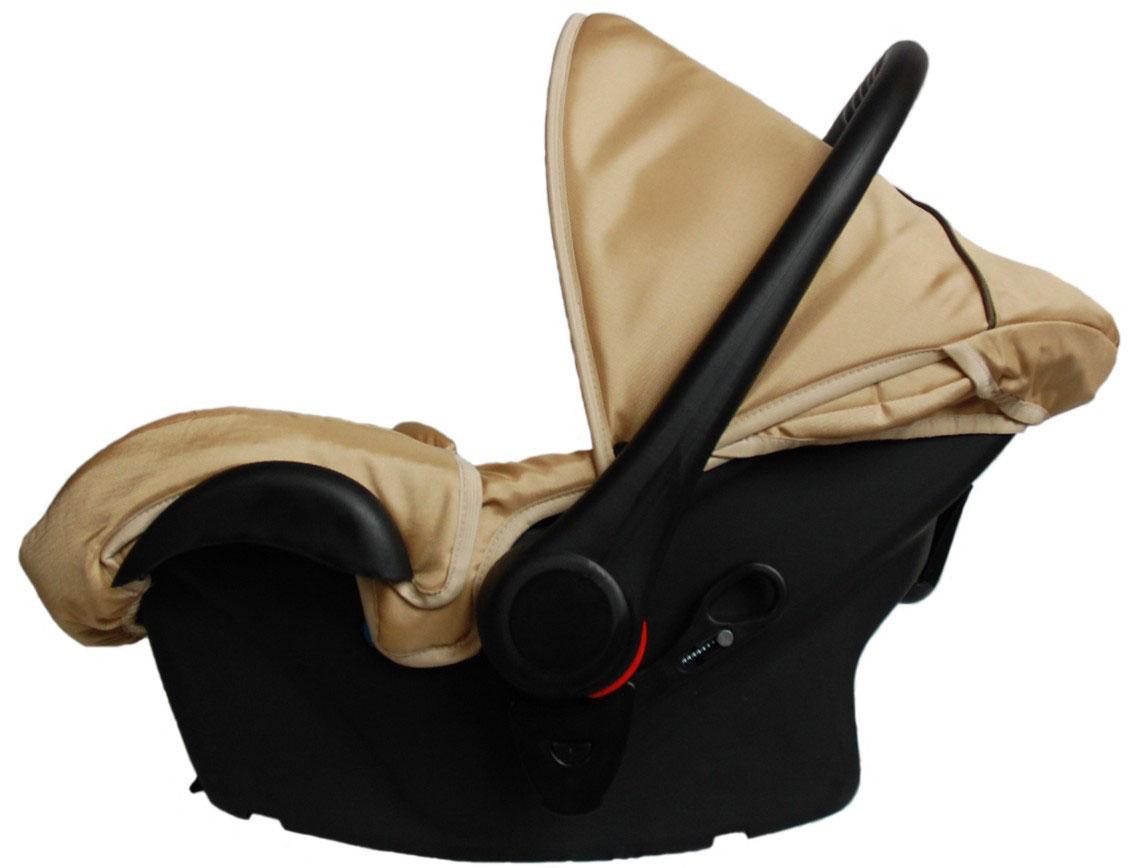 Lonex Автокресло цвет бежевый от 0 до 13 кг F-24F-24Очень лёгкоеавтокресло Lonexподойдет для любого автомобиля.Для малышей до 1 года (от 0 до 13 кг (группа 0+). Анатомическая подушечка создает комфорт малышу. Отстегивающийся козырек защитит ребенка от солнца, а теплая накидка на ножки обеспечит комфорт в прохладную погоду. Возможно установка горизонтального положения спинки. В кресле для малышей существует три надежных ремня безопасности со специальными накладками, которые не будут натирать нежную кожу ребенка. Данное автокресло возможно установить на все шасси колясок Lonex 2 в 1.