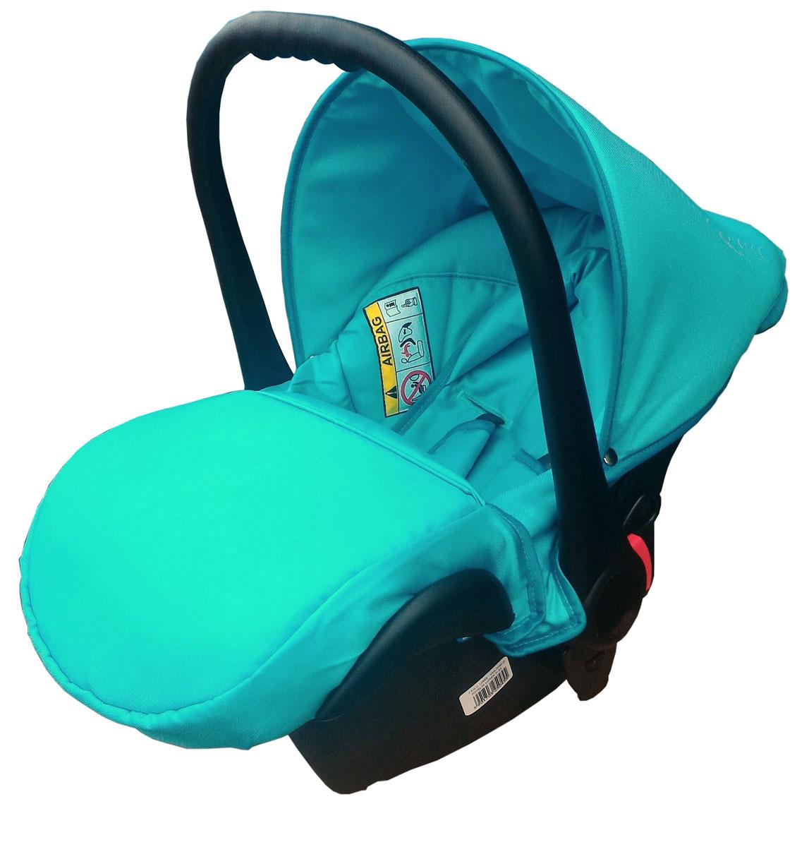 Lonex Автокресло цвет бирюзовый от 0 до 13 кг F-32F-32Очень лёгкоеавтокресло Lonexподойдет для любого автомобиля.Для малышей до 1 года (от 0 до 13 кг (группа 0+). Анатомическая подушечка создает комфорт малышу. Отстегивающийся козырек защитит ребенка от солнца, а теплая накидка на ножки обеспечит комфорт в прохладную погоду. Возможно установка горизонтального положения спинки. В кресле для малышей существует три надежных ремня безопасности со специальными накладками, которые не будут натирать нежную кожу ребенка. Данное автокресло возможно установить на все шасси колясок Lonex 2 в 1.