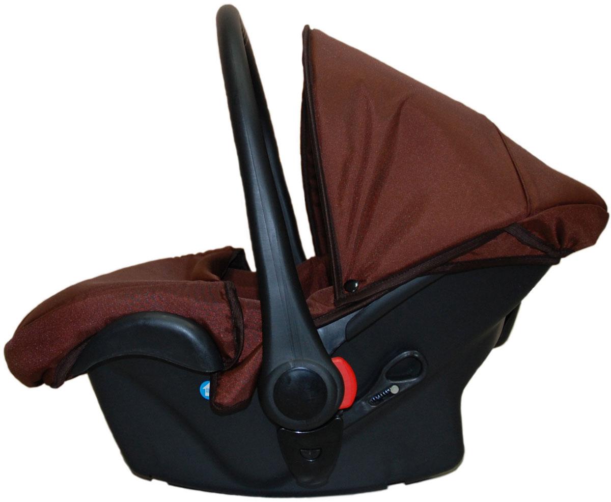 Lonex Автокресло цвет коричневый от 0 до 13 кг F-DBF-DBОчень лёгкоеавтокресло Lonexподойдет для любого автомобиля.Для малышей до 1 года (от 0 до 13 кг (группа 0+). Анатомическая подушечка создает комфорт малышу. Отстегивающийся козырек защитит ребенка от солнца, а теплая накидка на ножки обеспечит комфорт в прохладную погоду. Возможно установка горизонтального положения спинки. В кресле для малышей существует три надежных ремня безопасности со специальными накладками, которые не будут натирать нежную кожу ребенка. Данное автокресло возможно установить на все шасси колясок Lonex 2 в 1.