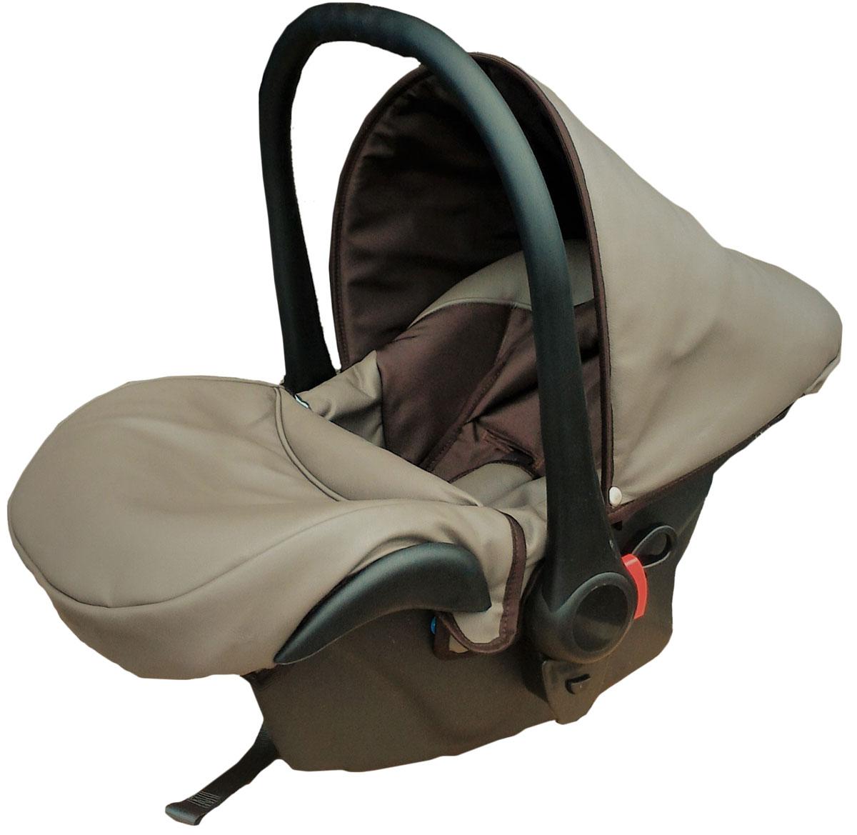 Lonex Автокресло цвет коричневый от 0 до 13 кг F-DB-ECCOF-DB-ECCOОчень лёгкоеавтокресло Lonexподойдет для любого автомобиля.Для малышей до 1 года (от 0 до 13 кг (группа 0+). Анатомическая подушечка создает комфорт малышу. Отстегивающийся козырек защитит ребенка от солнца, а теплая накидка на ножки обеспечит комфорт в прохладную погоду. Возможно установка горизонтального положения спинки. В кресле для малышей существует три надежных ремня безопасности со специальными накладками, которые не будут натирать нежную кожу ребенка. Данное автокресло возможно установить на все шасси колясок Lonex 2 в 1.