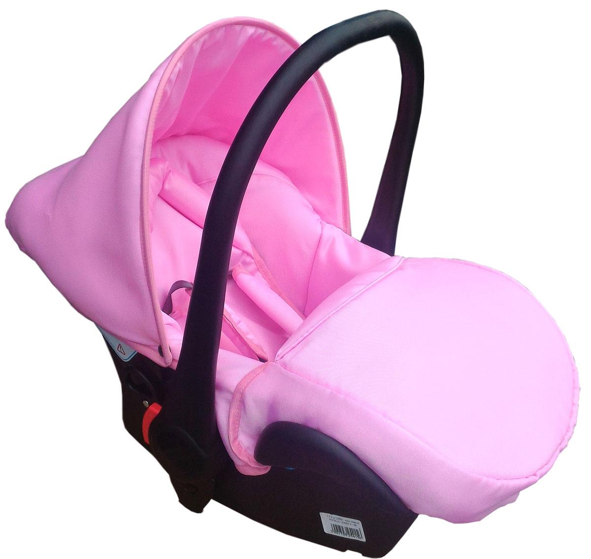 Lonex Автокресло цвет светло-розовый от 0 до 13 кг F-46F-46Очень лёгкоеавтокресло Lonexподойдет для любого автомобиля.Для малышей до 1 года (от 0 до 13 кг (группа 0+). Анатомическая подушечка создает комфорт малышу. Отстегивающийся козырек защитит ребенка от солнца, а теплая накидка на ножки обеспечит комфорт в прохладную погоду. Возможно установка горизонтального положения спинки. В кресле для малышей существует три надежных ремня безопасности со специальными накладками, которые не будут натирать нежную кожу ребенка. Данное автокресло возможно установить на все шасси колясок Lonex 2 в 1.