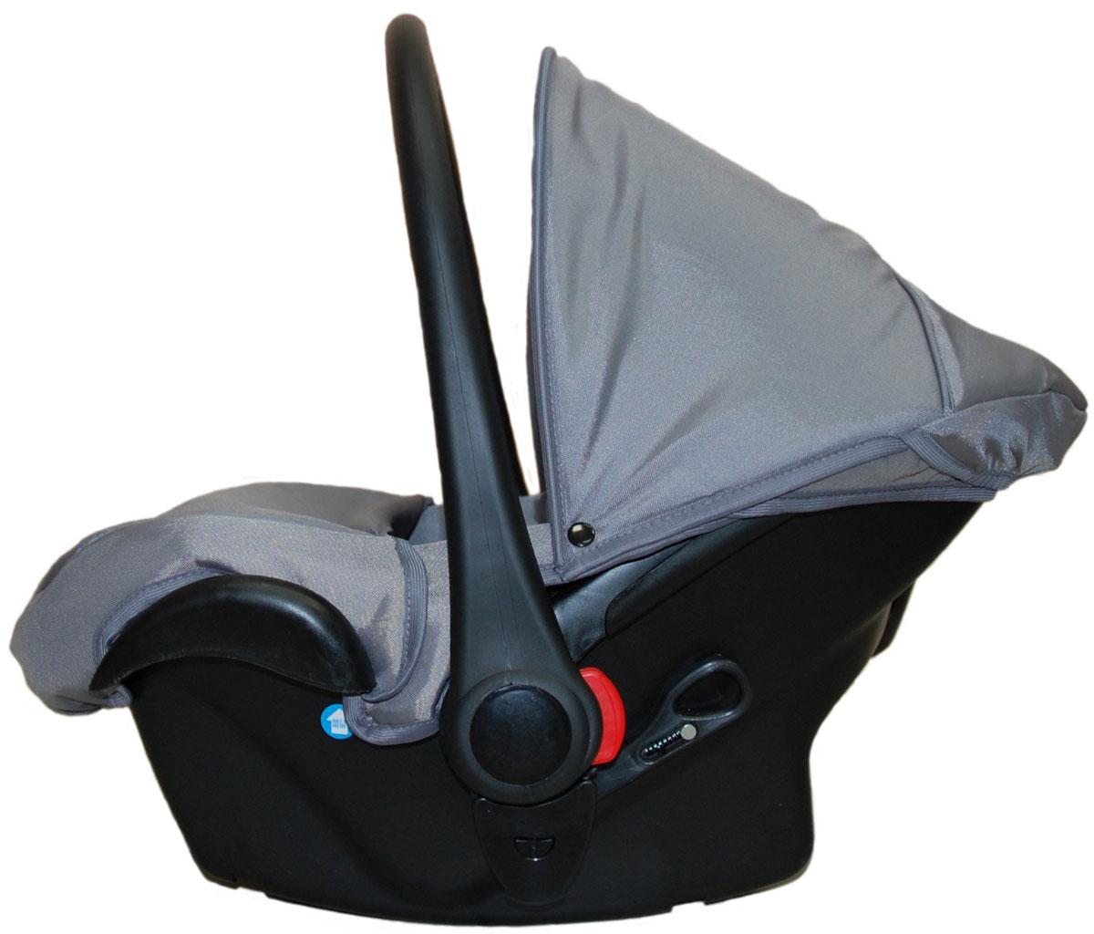 Lonex Автокресло цвет серый от 0 до 13 кг F-39F-39Очень лёгкоеавтокресло Lonexподойдет для любого автомобиля.Для малышей до 1 года (от 0 до 13 кг (группа 0+). Анатомическая подушечка создает комфорт малышу. Отстегивающийся козырек защитит ребенка от солнца, а теплая накидка на ножки обеспечит комфорт в прохладную погоду. Возможно установка горизонтального положения спинки. В кресле для малышей существует три надежных ремня безопасности со специальными накладками, которые не будут натирать нежную кожу ребенка. Данное автокресло возможно установить на все шасси колясок Lonex 2 в 1.