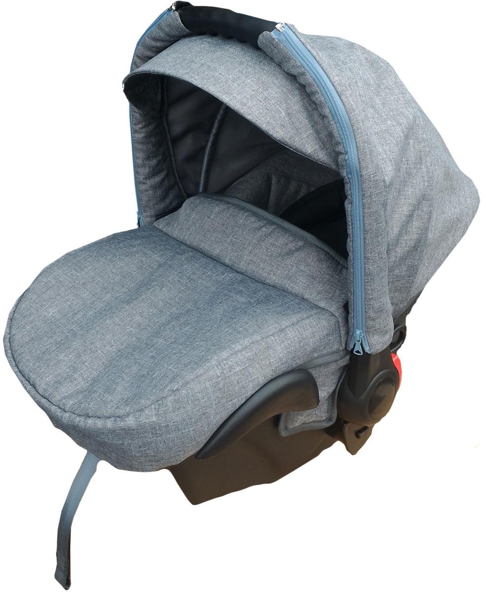 Lonex Автокресло цвет серый от 0 до 13 кг FL-08FL-08Очень лёгкоеавтокресло Lonexподойдет для любого автомобиля.Для малышей до 1 года (от 0 до 13 кг (группа 0+). Анатомическая подушечка создает комфорт малышу. Отстегивающийся козырек защитит ребенка от солнца, а теплая накидка на ножки обеспечит комфорт в прохладную погоду. Возможно установка горизонтального положения спинки. В кресле для малышей существует три надежных ремня безопасности со специальными накладками, которые не будут натирать нежную кожу ребенка. Данное автокресло возможно установить на все шасси колясок Lonex 2 в 1.