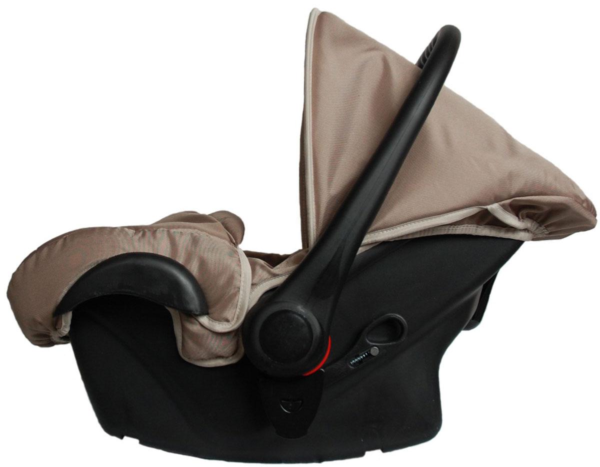 Lonex Автокресло цвет темно-бежевый от 0 до 13 кг F-921F-921Очень лёгкоеавтокресло Lonexподойдет для любого автомобиля.Для малышей до 1 года (от 0 до 13 кг (группа 0+). Анатомическая подушечка создает комфорт малышу. Отстегивающийся козырек защитит ребенка от солнца, а теплая накидка на ножки обеспечит комфорт в прохладную погоду. Возможно установка горизонтального положения спинки. В кресле для малышей существует три надежных ремня безопасности со специальными накладками, которые не будут натирать нежную кожу ребенка. Данное автокресло возможно установить на все шасси колясок Lonex 2 в 1.