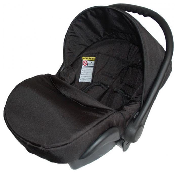 Lonex Автокресло цвет черный от 0 до 13 кг F-10F-10Очень лёгкоеавтокресло Lonexподойдет для любого автомобиля.Для малышей до 1 года (от 0 до 13 кг (группа 0+). Анатомическая подушечка создает комфорт малышу. Отстегивающийся козырек защитит ребенка от солнца, а теплая накидка на ножки обеспечит комфорт в прохладную погоду. Возможно установка горизонтального положения спинки. В кресле для малышей существует три надежных ремня безопасности со специальными накладками, которые не будут натирать нежную кожу ребенка. Данное автокресло возможно установить на все шасси колясок Lonex 2 в 1.