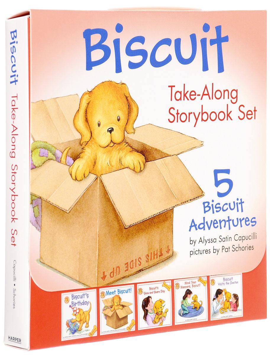 Biscuit Take-Along Storybook Set (комплект из 5 книг) biscuit