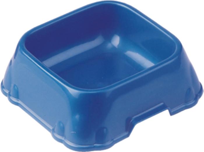 Миска для животных №1, 400 млДм639Миска изготовлена из пластика, нетоксичного прочного материала, который легко моется, не бьется и не подвержен коррозии.
