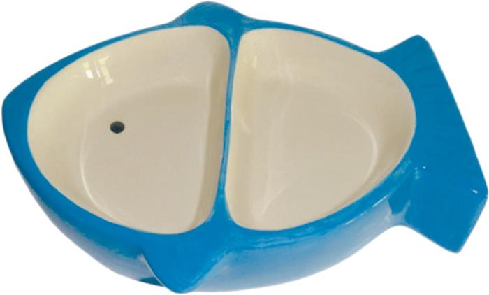 Миска для животных №1, двойная, 17 х 13,5 х 4 смМКР898Керамическая миска для кошек. Проста в использовании, гигиенична и долговечна. Антибактериальные свойства. Не впитывает жир и запах. Нетоксична. Рассчитана на длительное активное использование.