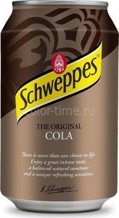 Schweppes Cola напиток сильногазированный, 330 мл шарк 330 купить в украике