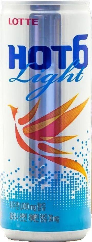 Lotte Тонизирующий напиток Hot6ix Лайт, 250 мл запонки lotte page 6