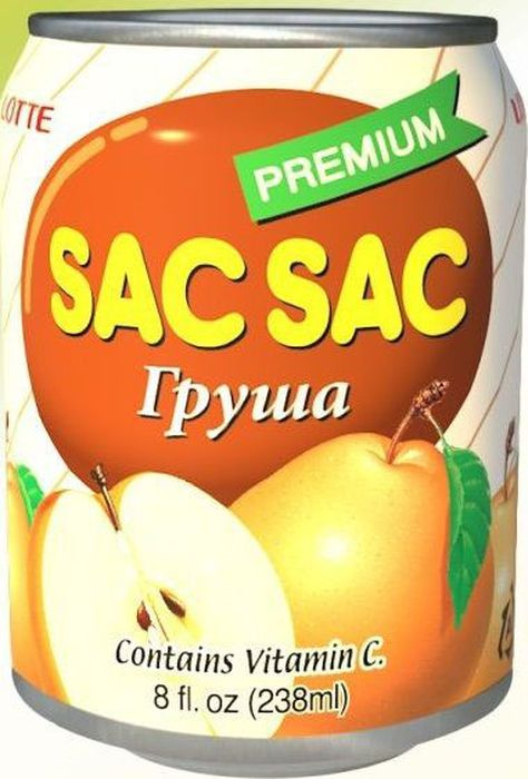 Lotte Сак-Сак Напиток негазированный сокосодержащий из грушевого сока, 238 мл8801056412012SAC SAC с соком сочной груши. Сокосодержащие напитки с кусочками фруктов – это серия напитков высокого качества с добавлением натурального сока и мякоти настоящих фруктов и ягод. Этот напиток дает возможность насладиться фруктами в любое время года и в любом месте. Открыв баночку сокосодержащего напитка SAC-SAC, с кусочками фруктов, вы окунетесь в широкую палитру вкусов фруктов и ягод. Делая глоток напитка со вкусом груши, вы попадаете в лето, и, кажется, как будто кусаешь сочную грушу! В целом серия напитков включает множество вкусов, которые порадуют гурманов и просто ценителей здоровых и натуральных товаров. Напитки разливаются на современных асептических линиях. В состав напитков кроме кусочков фруктов и ягод и сока также входят витамины и полезные микроэлементы.