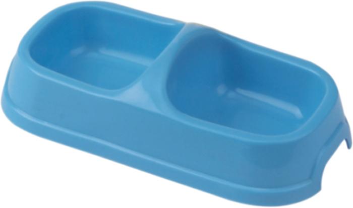 Миска для животных №1, двойная, 2 х 150 млА2001/1Миска изготовлена из пластика, нетоксичного прочного материала, который легко моется, не бьется и не подвержен коррозии.