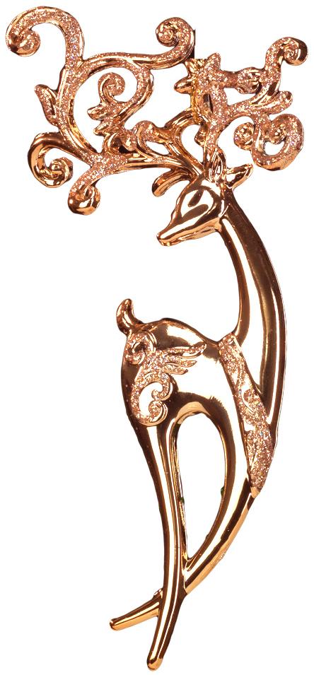 Грациозный олень выполнен в цвете розового золота и декорирован блестками. Фигурки животных всегда пользуются большой популярностью, и спрос на них является стабильно высоким. Новогодние украшения всегда несут в себе волшебство и красоту праздника. Создайте в своем доме атмосферу тепла, веселья и радости, украшая его всей семьей.