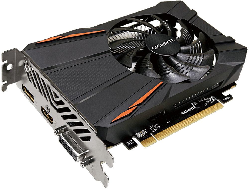 Gigabyte Radeon RX 560 OC 4GB видеокартаGV-RX560OC-4GDВидеокарта Gigabyte Radeon RX 560 OC создана, чтобы удовлетворить все требования опытных игроков.Основано на решении AMD Radeon, архитектура GPU Polaris.Уникальный дизайн лопастей вентилятораВоздушный поток эффективно отводится от радиатора с помощью вентиляторов, лопасти которых, имеютспециальные насечки и форму. Благодаря этим характеристикам удается достичь высокого уровня отвода тепла,при высоких нагрузках и низкой температуре. Тесты показали эффективность выше на 23%.3D Active FanИспользуется полупассивный режим работы, вентиляторы останавливают свою работу, если температура чипа невысокая, или нет достаточной нагрузки. Разгон в одно нажатиеОдним простым действием в программном обеспечении Xtreme Engine, игроки могут легко настроить карту такимобразом, чтобы удовлетворить различные игровые требования без специальных знаний.Надежные и долговечные компонентыПри производстве карты используются дроссели и конденсаторы высокого качества, благодаря этому фактуграфическая карта обеспечивает выдающуюся производительность и долговечность системы. Как собрать игровой компьютер. Статья OZON Гид