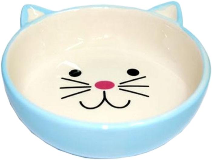 Миска для животных №1, цвет: голубой, 12,5 х 12,5 х 4 смМКР801Керамическая миска для кошек. Проста в использовании, гигиенична и долговечна. Антибактериальные свойства. Не впитывает жир и запах. Нетоксична. Рассчитана на длительное активное использование.