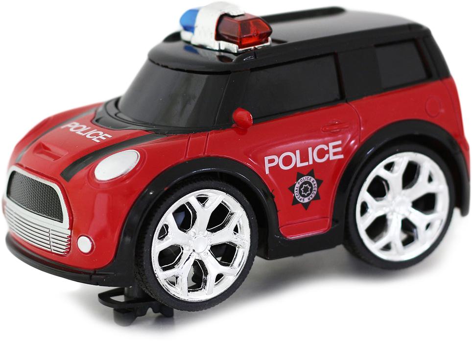 Taiko Машина на радиоуправлении Полиция цвет красный черный