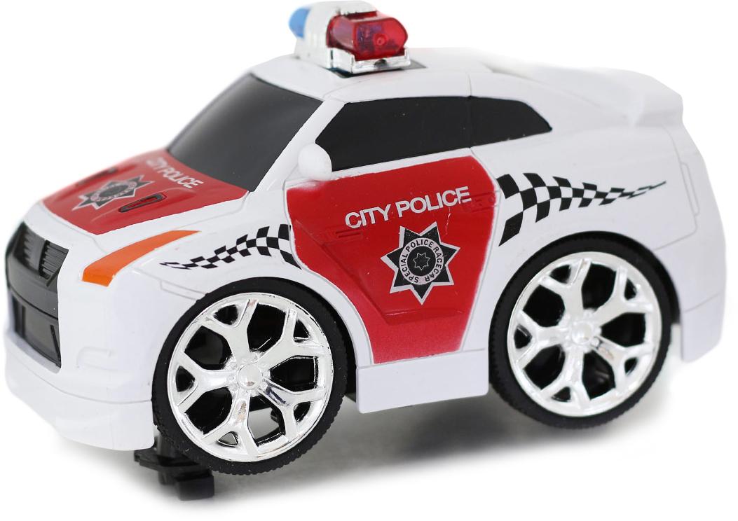 Taiko Zoom Машина на радиоуправлении Полиция цвет белый красный