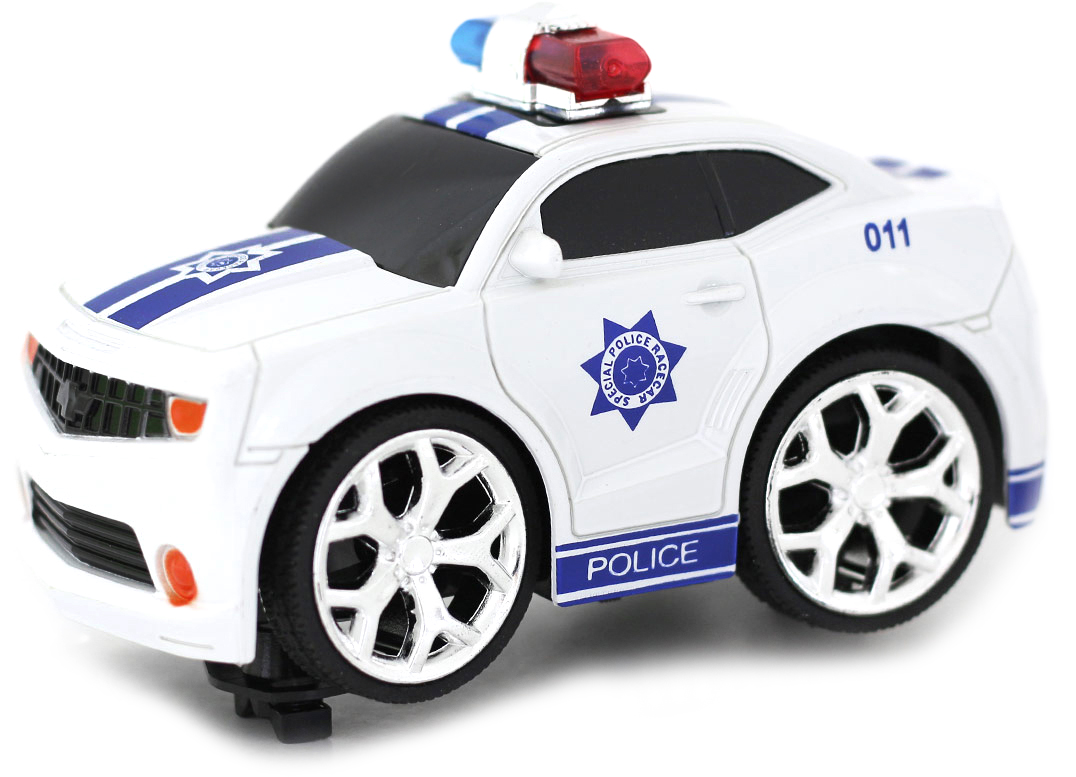 Taiko Zoom Машина на радиоуправлении Полиция цвет белый голубой tonka машинка полиция