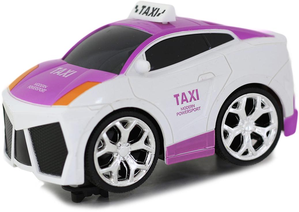 Taiko Машина на радиоуправлении Такси цвет светло-розовый машины drift машина фрикционная такси
