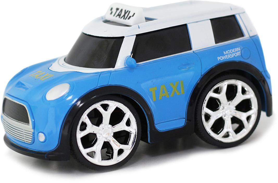 Taiko Zoom Машина на радиоуправлении Такси цвет голубой машины taiko zoom строительная техника кран радиоуправляемый