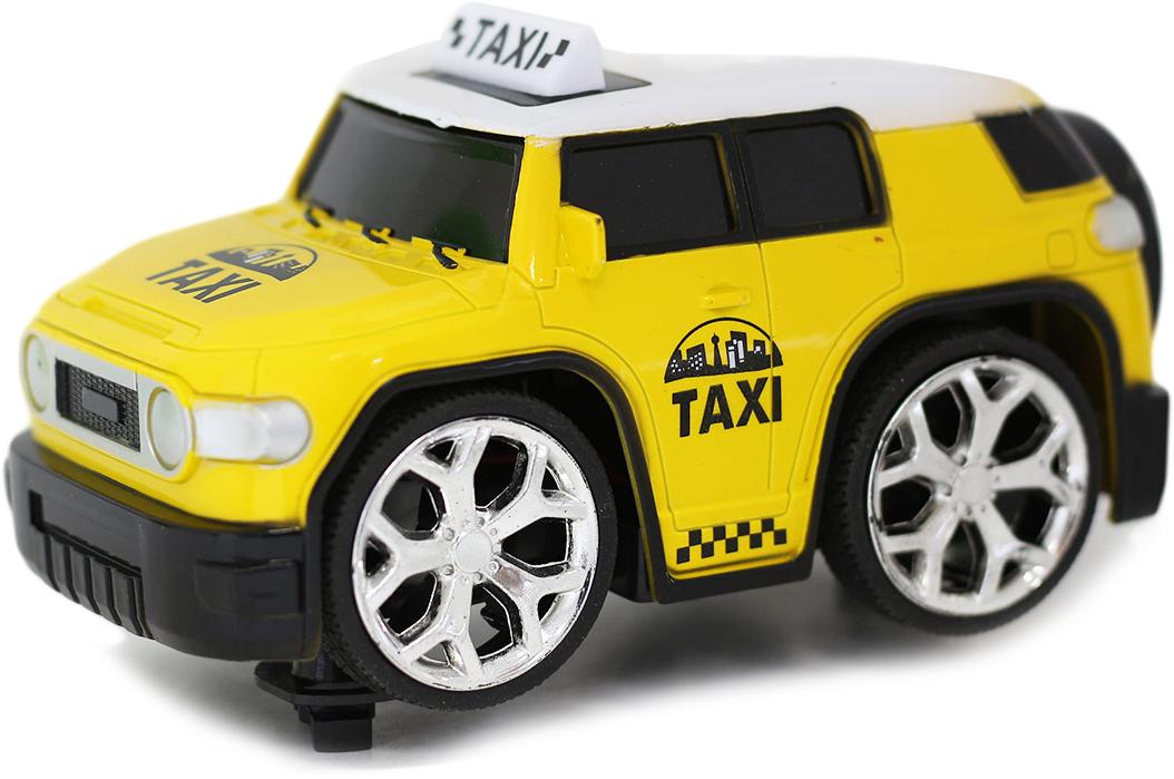 Taiko Машина на радиоуправлении Такси цвет желтый машины drift машина фрикционная такси