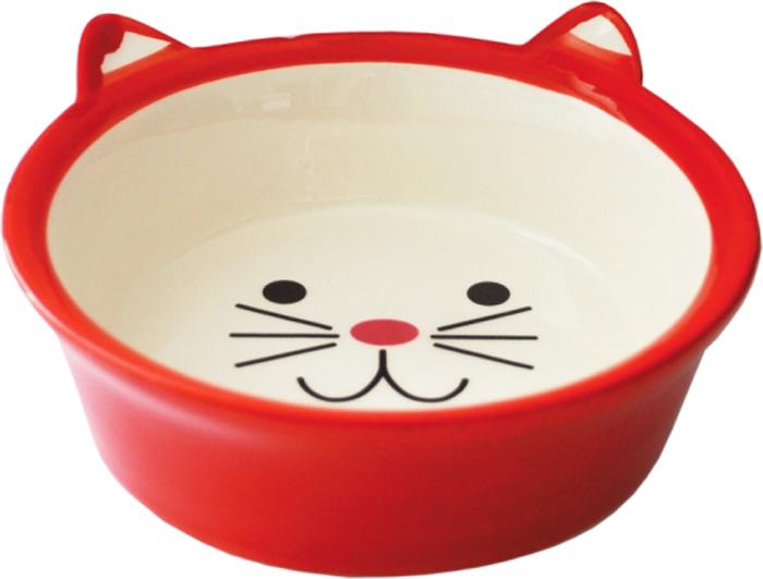 Миска для животных №1, цвет: красный, 250 млМКР4014-1Керамическая миска для кошек. Проста в использовании, гигиенична и долговечна. Антибактериальные свойства. Не впитывает жир и запах. Нетоксична. Рассчитана на длительное активное использование.