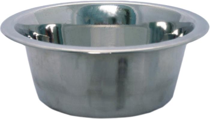 Миска для животных Уют, 1,5 лАММ189Миска для животных, изготовленная из стали, прочная и долговечная, предназначена для корма и воды. Она порадует удобством использования как самих животных, так и их хозяев.