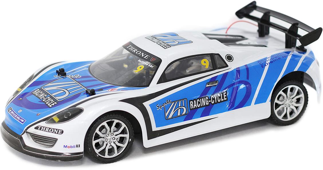 Taiko StreetZone Машина гоночная на радиоуправлении цвет белый синий 0692
