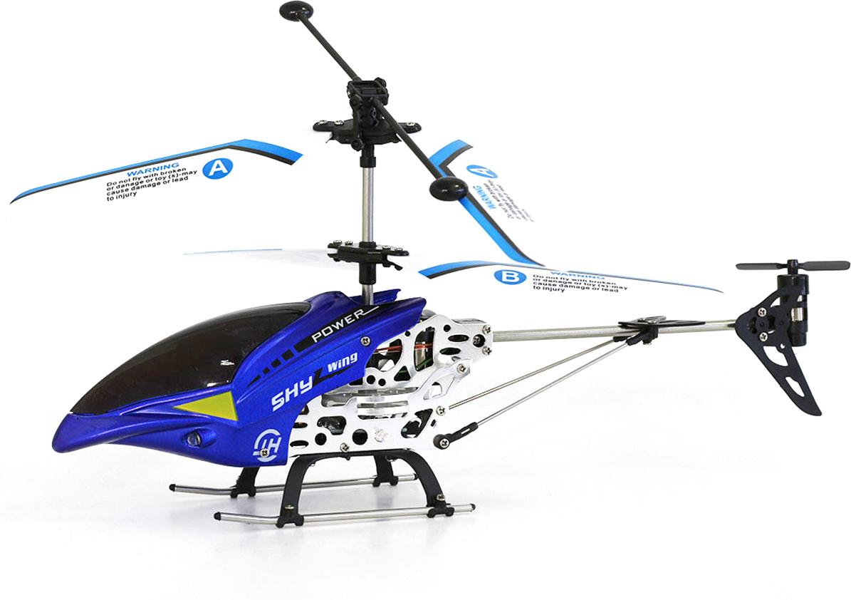 Taiko Вертолет на радиоуправлении цвет синий купить вертолет на пульте управления в костроме