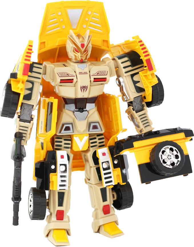 Taiko Кибербот Робот-транформер цвет желтый R0133