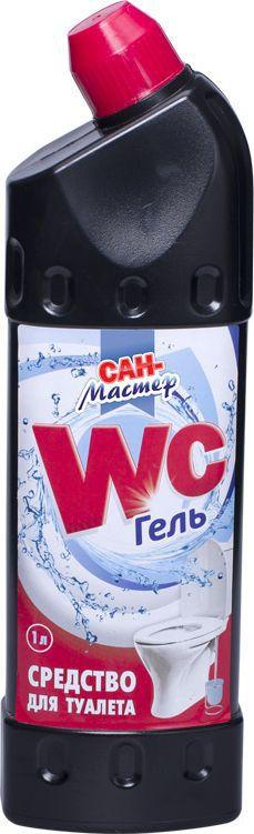 Средство для ванной и туалета Сан-Мастер, 1 л4603720913870Средство для ванной и туалета Сан-Мастер - максимально очищает, дезинфицирует, убивает 99,9% микробов, удаляет налет и ржавчину, устраняет неприятные запахи, оставляет свежий аромат.