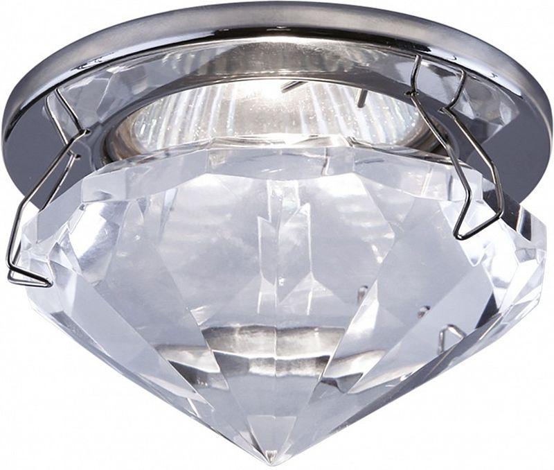 Светильник встраиваемый Lightstar Diamo, GU5.3, 50W. LS_009004LS_009004Светильник встраиваемый Lightstar Diamo, GU5.3, 50W. LS_009004